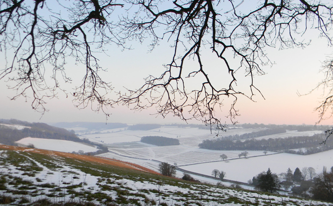Chilterns in the Winter