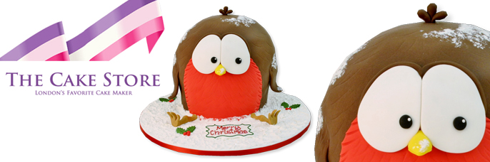 Robin cake from The Cake Store