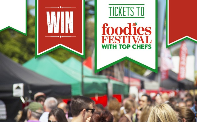 Win Foodies Tickets Brighton