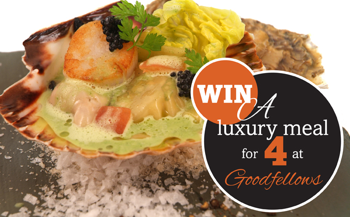 Win a meal for 4 at Goodfellows