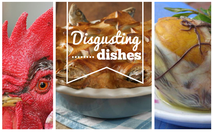 Disgusting dishes from around the world
