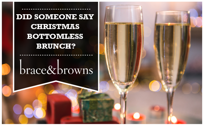 brace & browns festive bottomless brunch