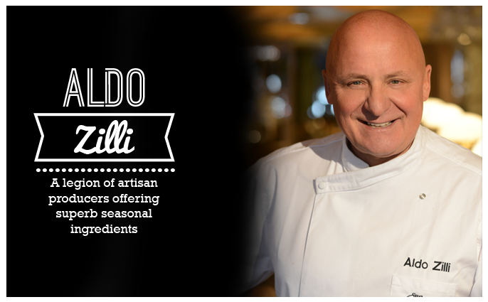 Aldo Zilli talks dining in Manchester