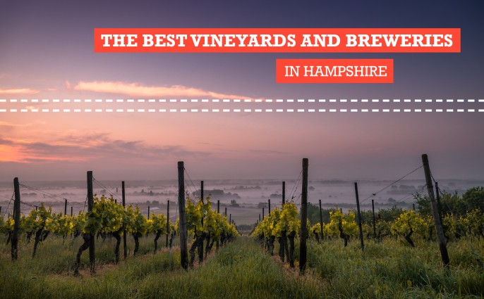 breweries vineyards hampshire