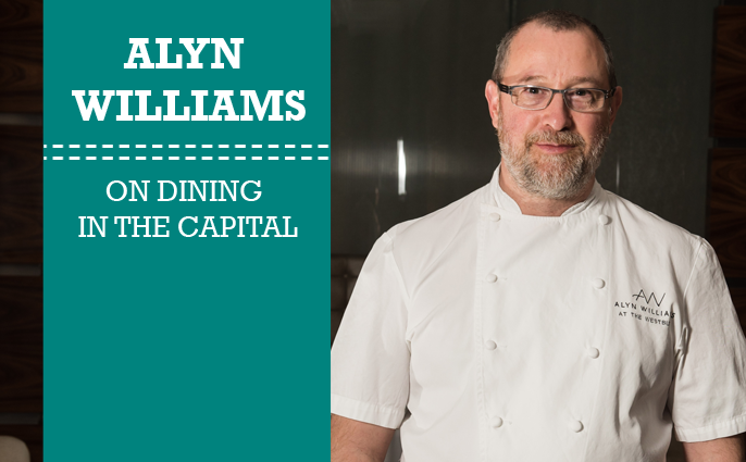 Alyn Williams on Dining in the Capita