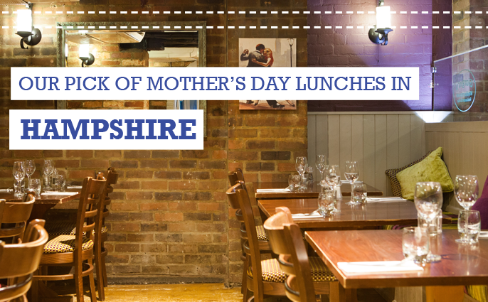 mothers day lunch hampshire