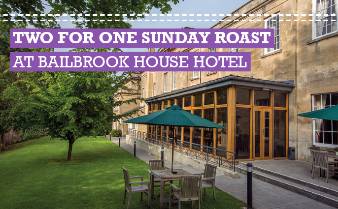 Sunday Roast at Bailbrook House Hotel
