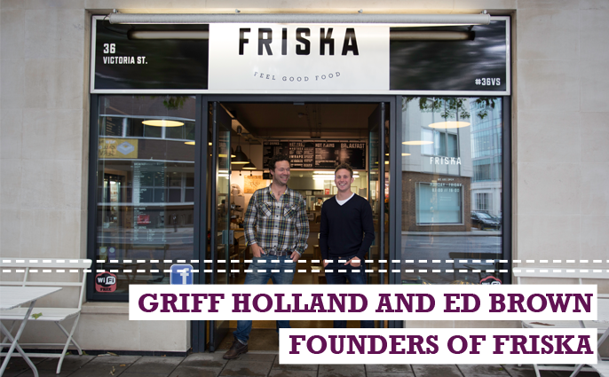 Griff Holland and Ed Brown of Friska