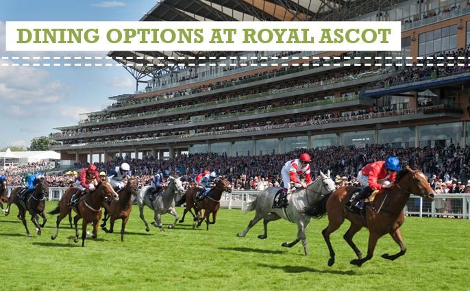 dining options at Royal Ascot