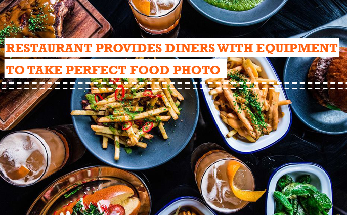 equipment to take perfect food photo