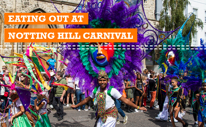 what to eat at notting hill carnival