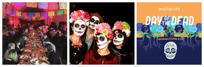 Wahaca Halloween event Mexican day of the dead