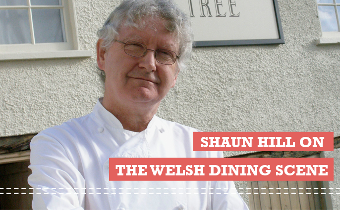 Michelin star chef Shaun Hill talks dining in Wales