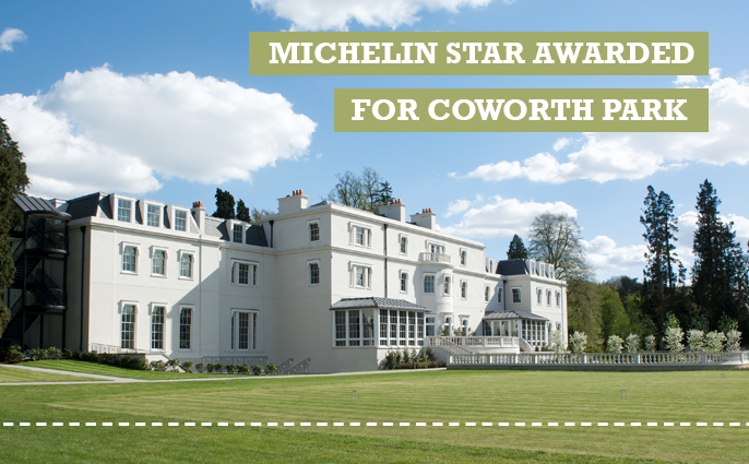 coworth park awarded michelin star cover photo