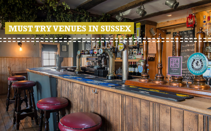 best venues in Sussex