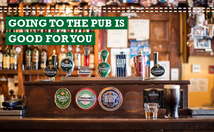 pub is good for you