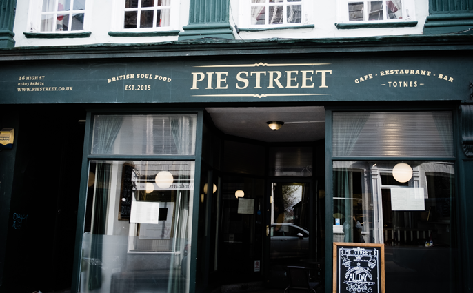 Devon Staff Pick: Pie Street in Totnes