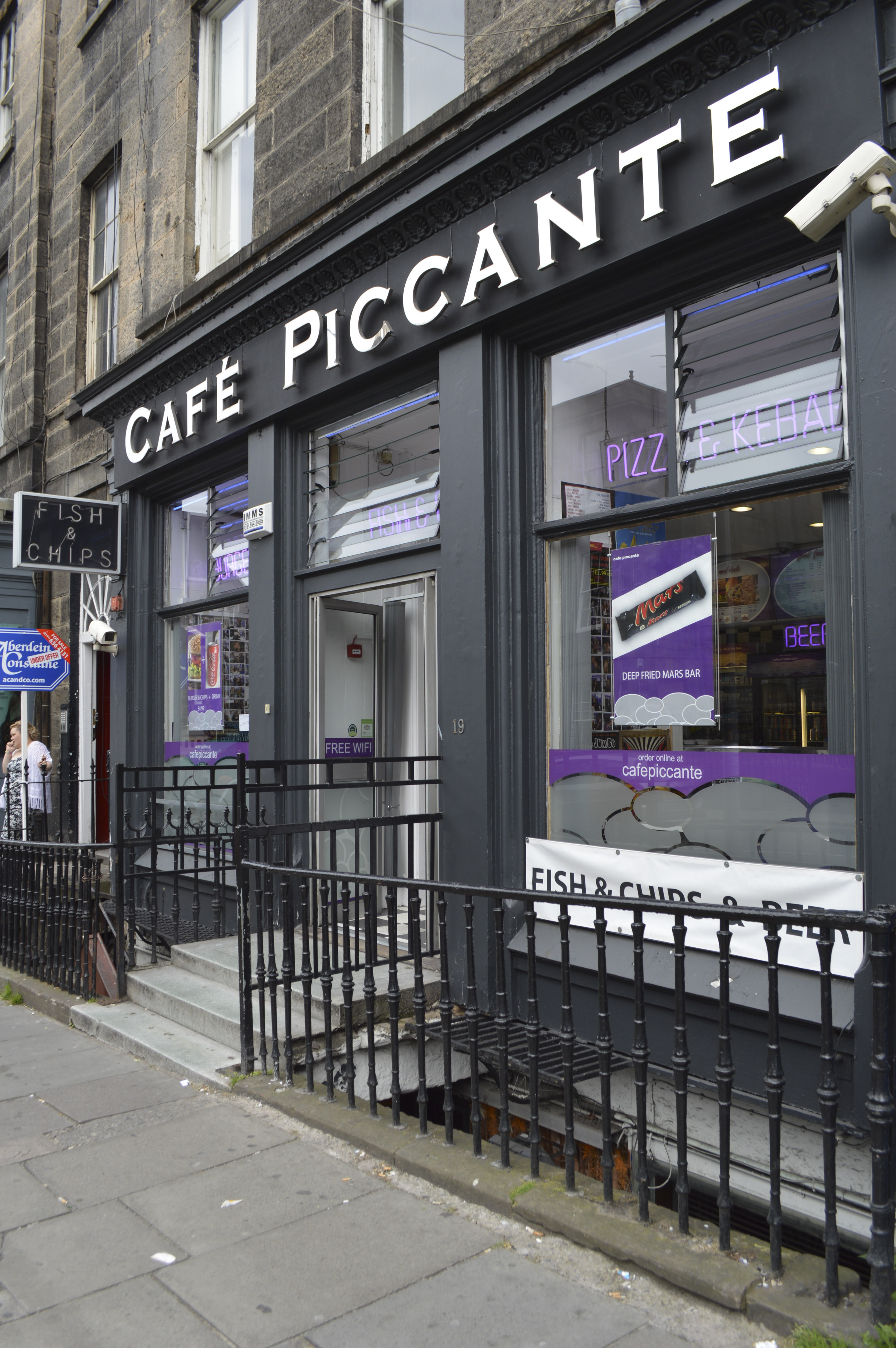 Food Delivery Services In Edinburgh