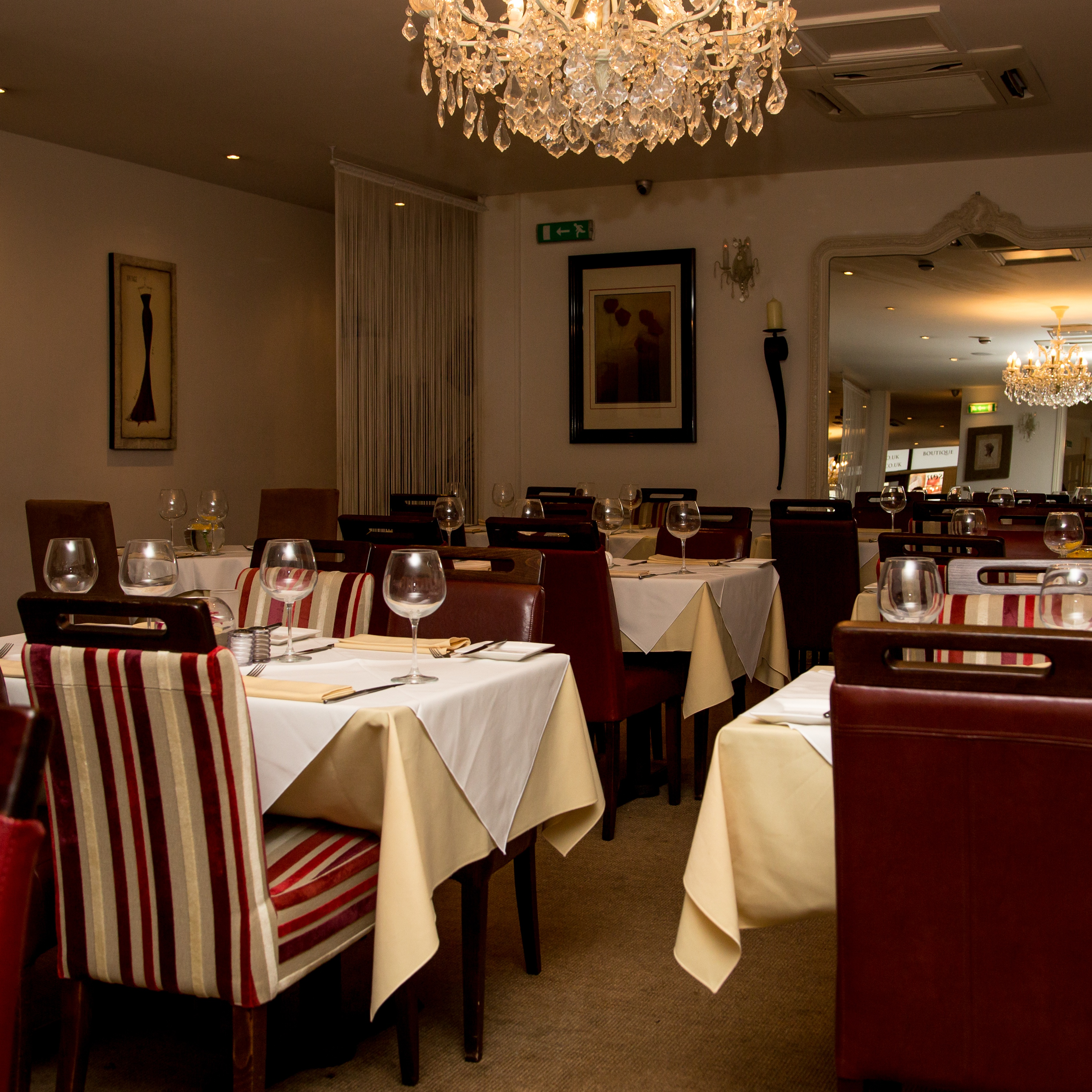 Second Hand Leather Sofas Dorset: Signature Steakhouse - Nottingham