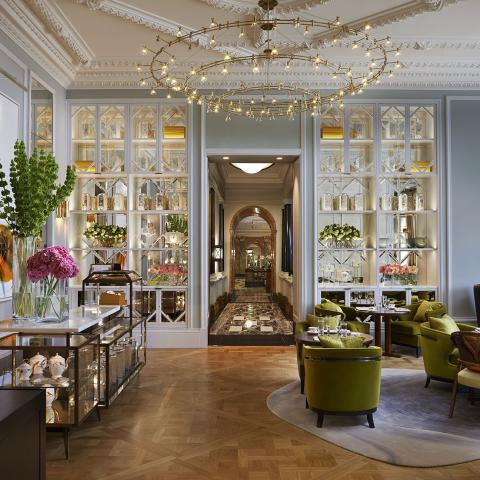 The Rosebery Lounge at Mandarin Oriental Hyde Park