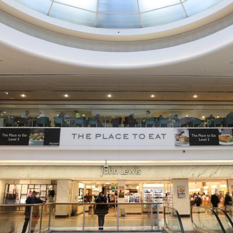 The Place to Eat, John Lewis - Brent Cross