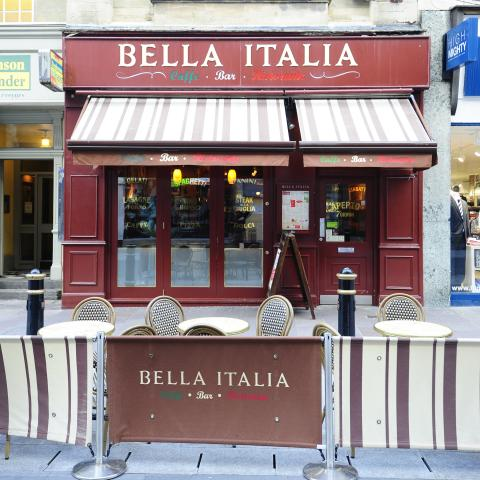 Bella Italia - Red Dragon Centre