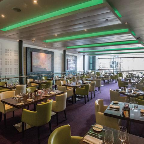 Circle Restaurant at the Birmingham Hippodrome