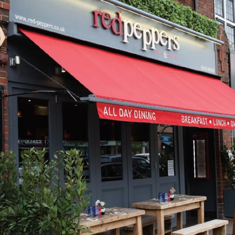 Red Peppers - Esher