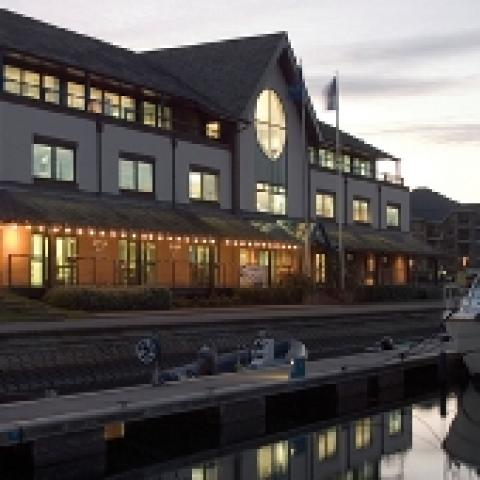 The Portsmouth Harbour Yacht Club - Quayside