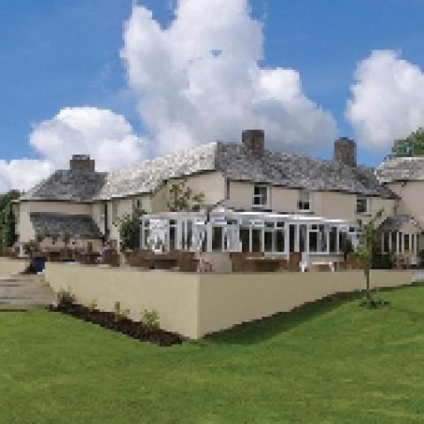 Blagdon Manor Restaurant with Rooms
