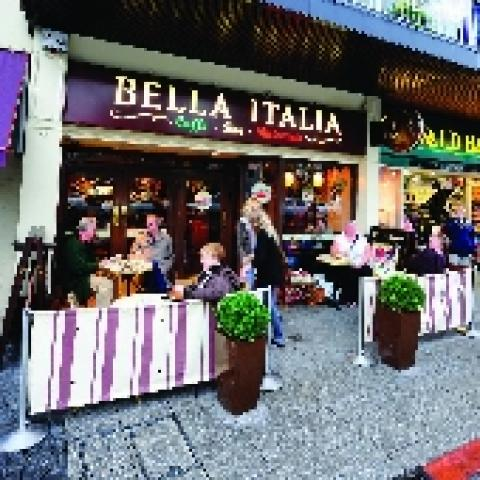 Bella Italia - Above Bar