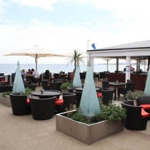 Seaview Restaurant & Terrace at The Sandbanks Hotel