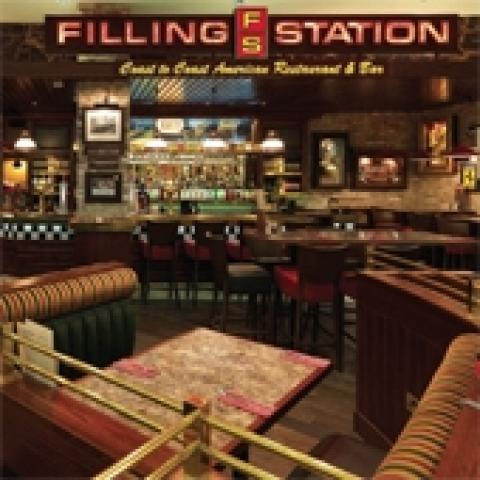 Filling Station, Coast to Coast American Restaurant & Bar - Glasgow