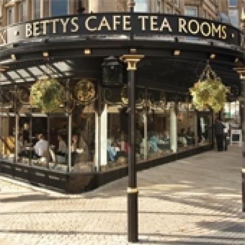 Bettys Cafe Tea Rooms - Stonegate, York