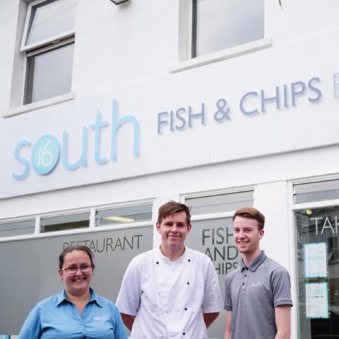 South Sixteen Fish & Chips